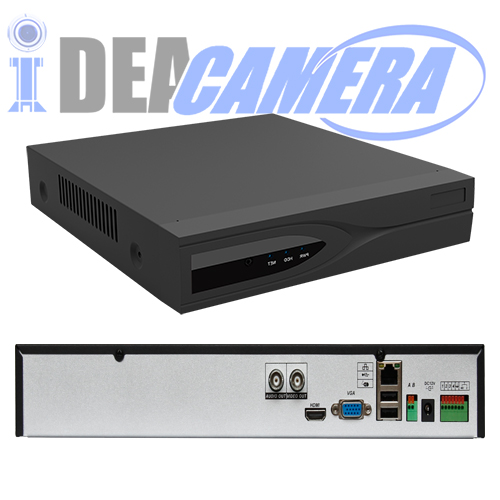 8CH 2MP H.265 NVR,Double antenna,Support WIFI Camera,8CH Playback,VSS Mobile APP